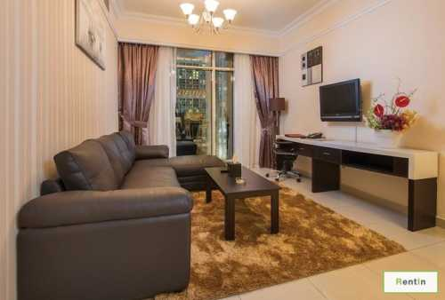 Monthly or Yearly Freshly Furnished 1BR!