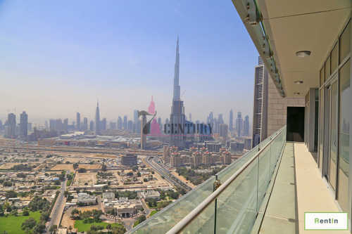 High Floor | Zabeel & Burj Khalifa View | DIFC