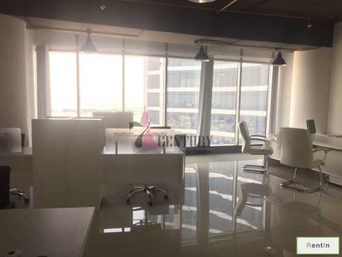 Furnished Office | Tecom | On high floor