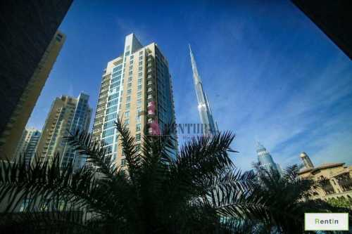 Amazing Lake & Burj Khalifa View | 2 BR Apt