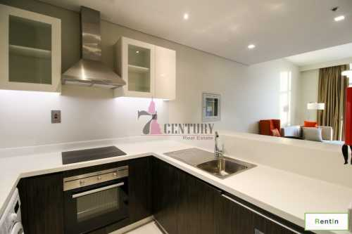 1 BR Apt| Fully Furnished | Pool & Terrace View