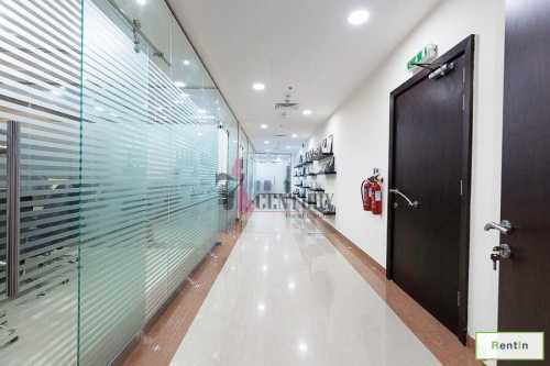 With Glass Partition | Huge & Fitted Office Space
