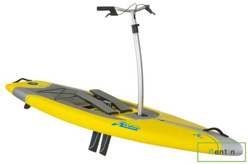 STANDUP PADDLE BOARD HOBIE MIRAGE ECLIPSE 12.0 YEL