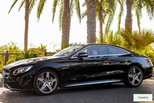 LUXURY CAR -MERCEDES S63 AMG COUPE