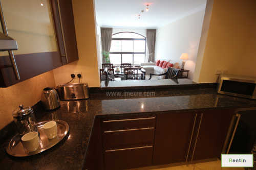Nicely Furnished 1BR For Rent In Golden Mile!
