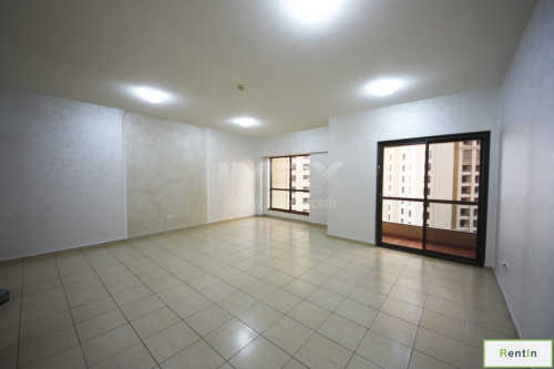 JBR, Sea View, 3 Bed+Maids, Vacant