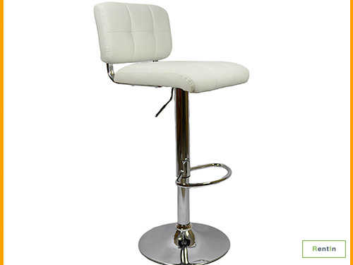 Bar stool White - #RF003