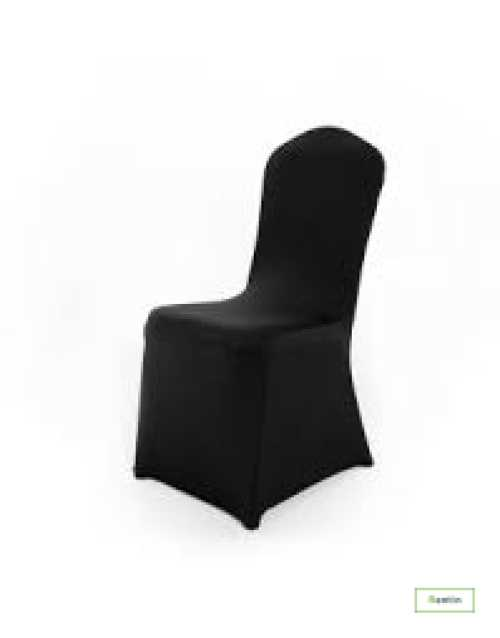 BANQUET CHAIR WITH STRETCH COVER(BLACK)
