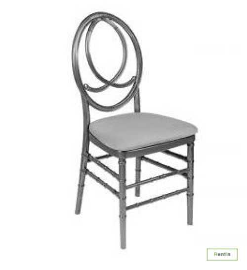 CHANNEL CHAIR (SILVER)