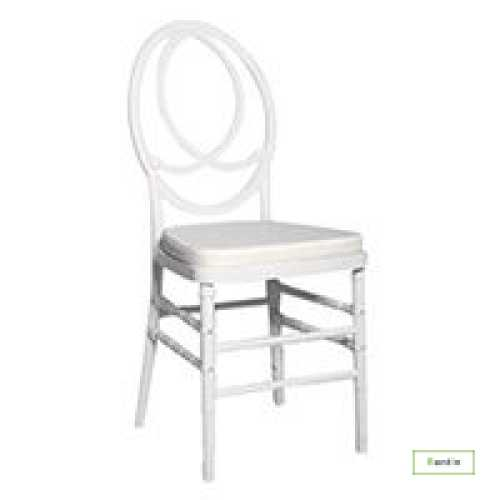 CHANNEL CHAIR (WHITE)