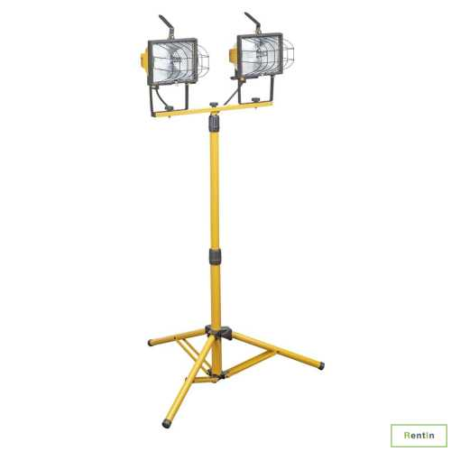 HALOGEN LAMP WITH STAND