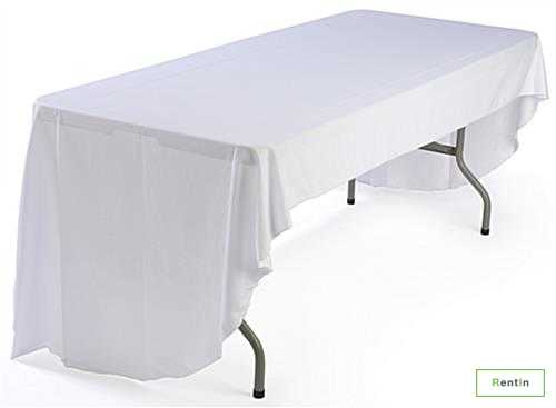 RECTANGULAR TABLE WITH COVER