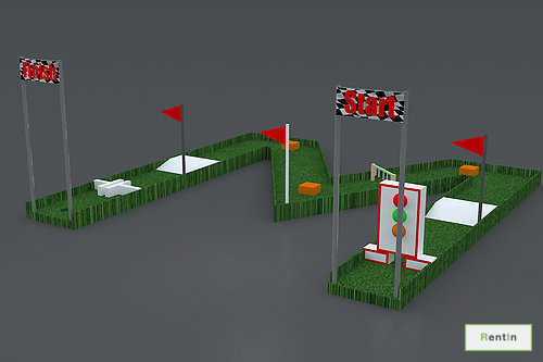 Golf Game 5 Meters x 5 Meters