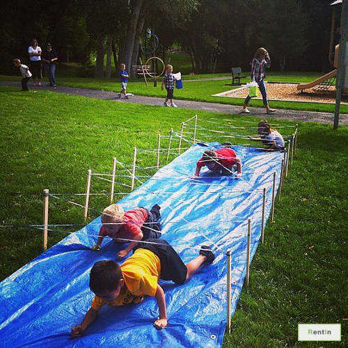 Kids Obstacle - Pass the Rope #RF101
