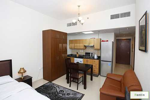 Studio apartment in Elite Residence, Sports City