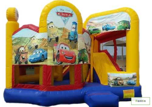 CARS BOUNCY SLIDE (COMBO.)