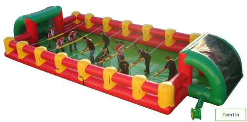 INFLATABLE HUMAN FOOSE BALL