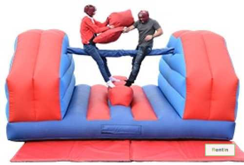 INFLATABLE PILLOW FIGHT BOUNCY