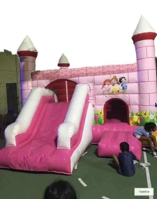 PINK PRINCESS SNOW WHITE BOUNCY/SLIDER