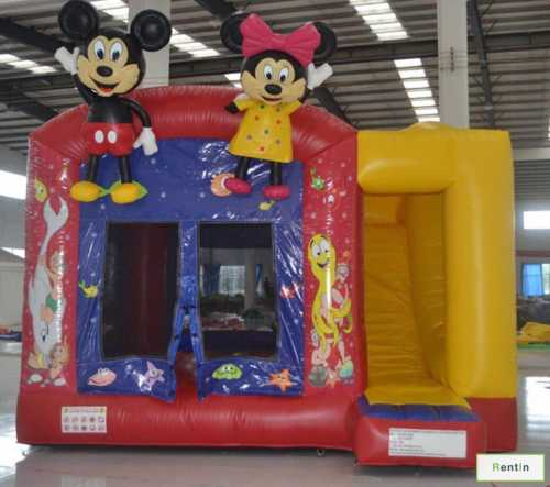SMALL MICKY AND MINNIE BOUNCY COMBO
