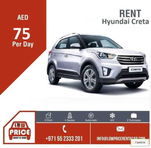 Starting from AED 75 per day