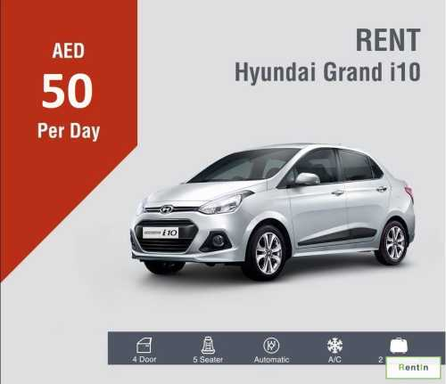 Starting from AED 50 per day
