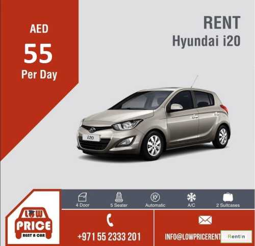 Starting from AED 55 per day