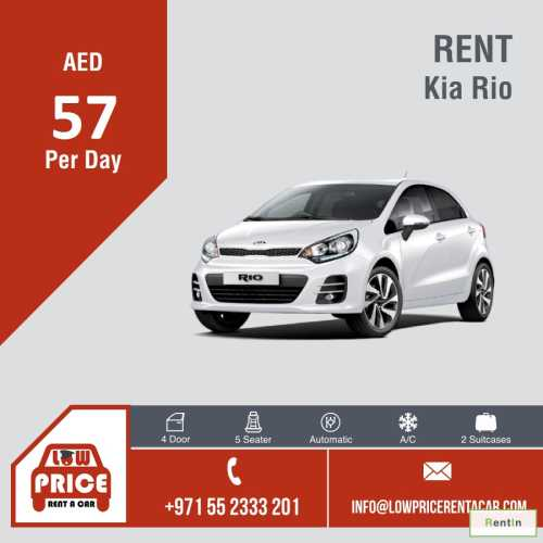 Starting from AED 57 per day