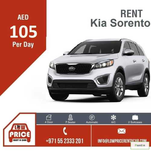 Starting from AED 105 per day