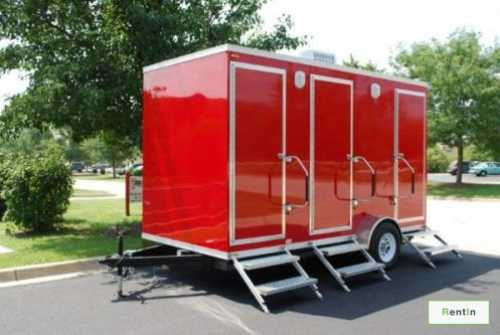 Events and camping portable toilets for rent