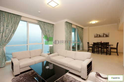 Stunning Views 2 BR + Maid in Al Bateen Tower