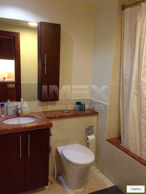 Fully Furnished Studio with Balcony in Link Canal Tower
