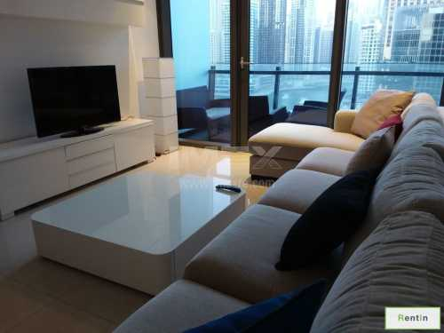 Silverene Tower A 2BR Furnished With Marina View
