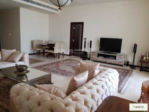 Full Sea View 3BR Apartment in Tiara, Aquamarine