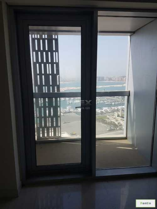 Furnished 1 B/R with Marina and Sea View