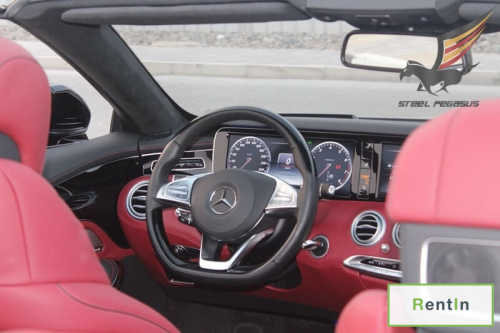 RENT MERCEDES BENZ S63 (COUPE) BLACK IN DUBAI