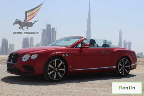 RENT BENTLEY GTC IN DUBAI