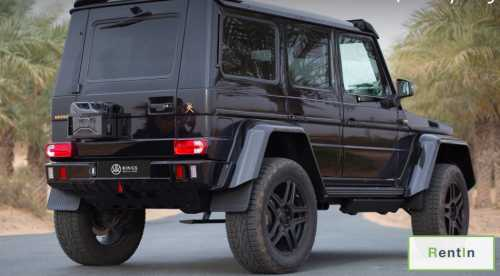 Rent Mercedes-Benz G500 4×4 in Dubai
