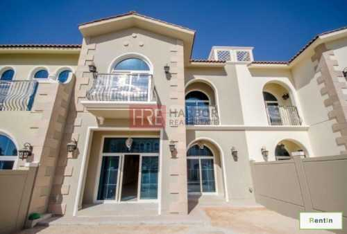 Brand New 3BR Villa Park Facing the Park next to The Community Gym & Pool