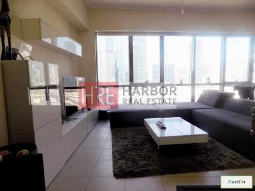 Burj Khalifa View Spacious 1 BR for Rent