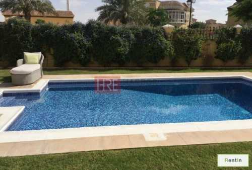 5BR Villa with Completely Upgraded Pool at Mazaya A2