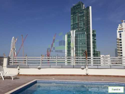 2 BR for rent with Full Sea View Marina