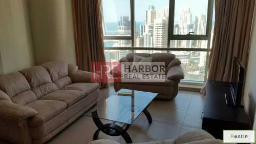 1BR with Lake view | Close to Metro Station