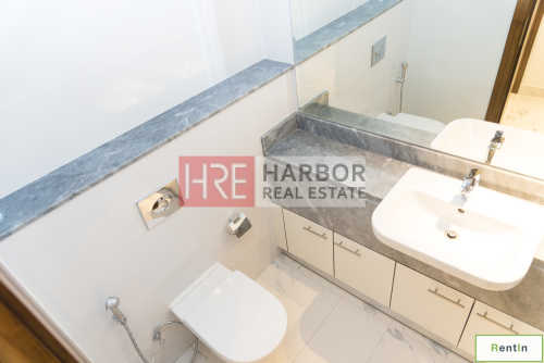 Higher Floor Spacious 2BR for Rent