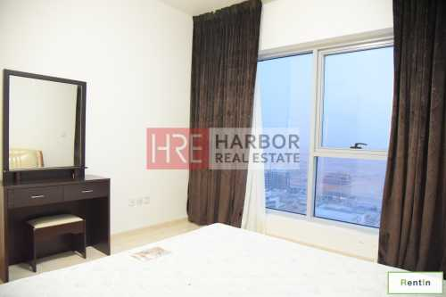 Semi-furnished 2BR on a High Floor