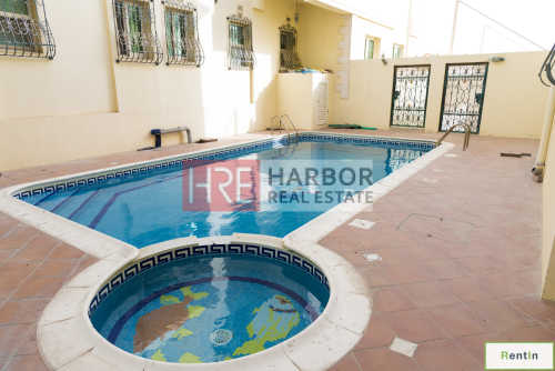Spacious 4 Bedroom Villa with Shared Pool