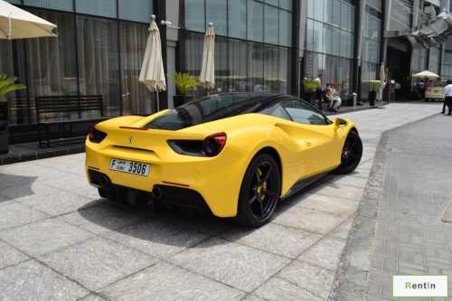 Ferrari 488 GTB for rent Dubai