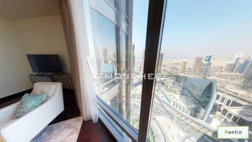 High Floor Full Fountain View | 2 BR