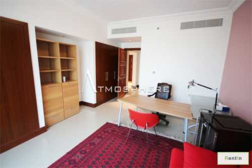 High Standard 2 BR+ Maid at Golden Mile with Sea View