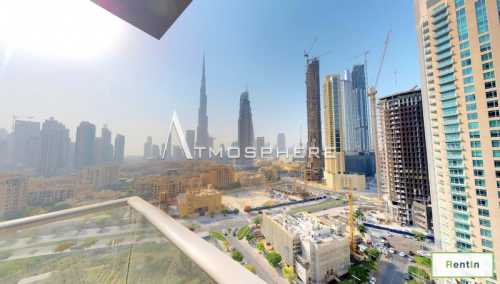 Unfurnished I Best Burj View I Biggest Size I Immaculate